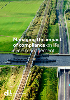 Managing the impact of compliance on life cycle management